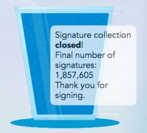 water petition
